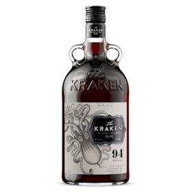The Kraken Spiced Black Rum (1.75 L)