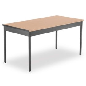 "OFM Core Collection 30"" x 60"" Multi-Purpose Utility Table, Choose a Color (UT3060)"