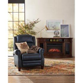 Peachy Reagan Leather Press Back Recliner Sams Club Creativecarmelina Interior Chair Design Creativecarmelinacom