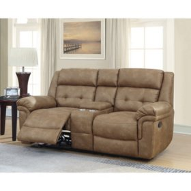 Cool Members Mark Hughes Reclining Console Love Seat Sams Club Pdpeps Interior Chair Design Pdpepsorg