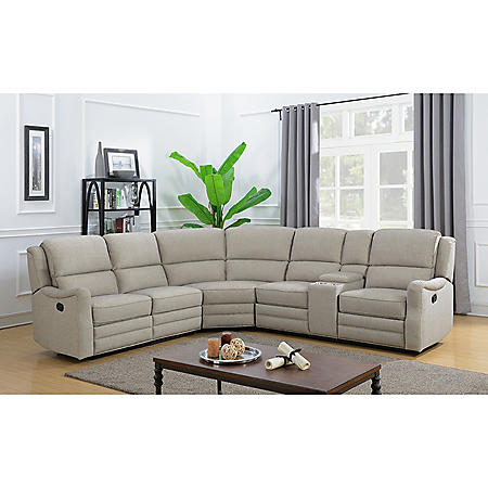 Emma 3-Piece Reclining Sectional