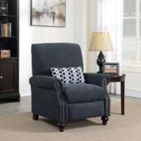 Deals on Conroe High Leg Recliner with Kidney Accent Pillow