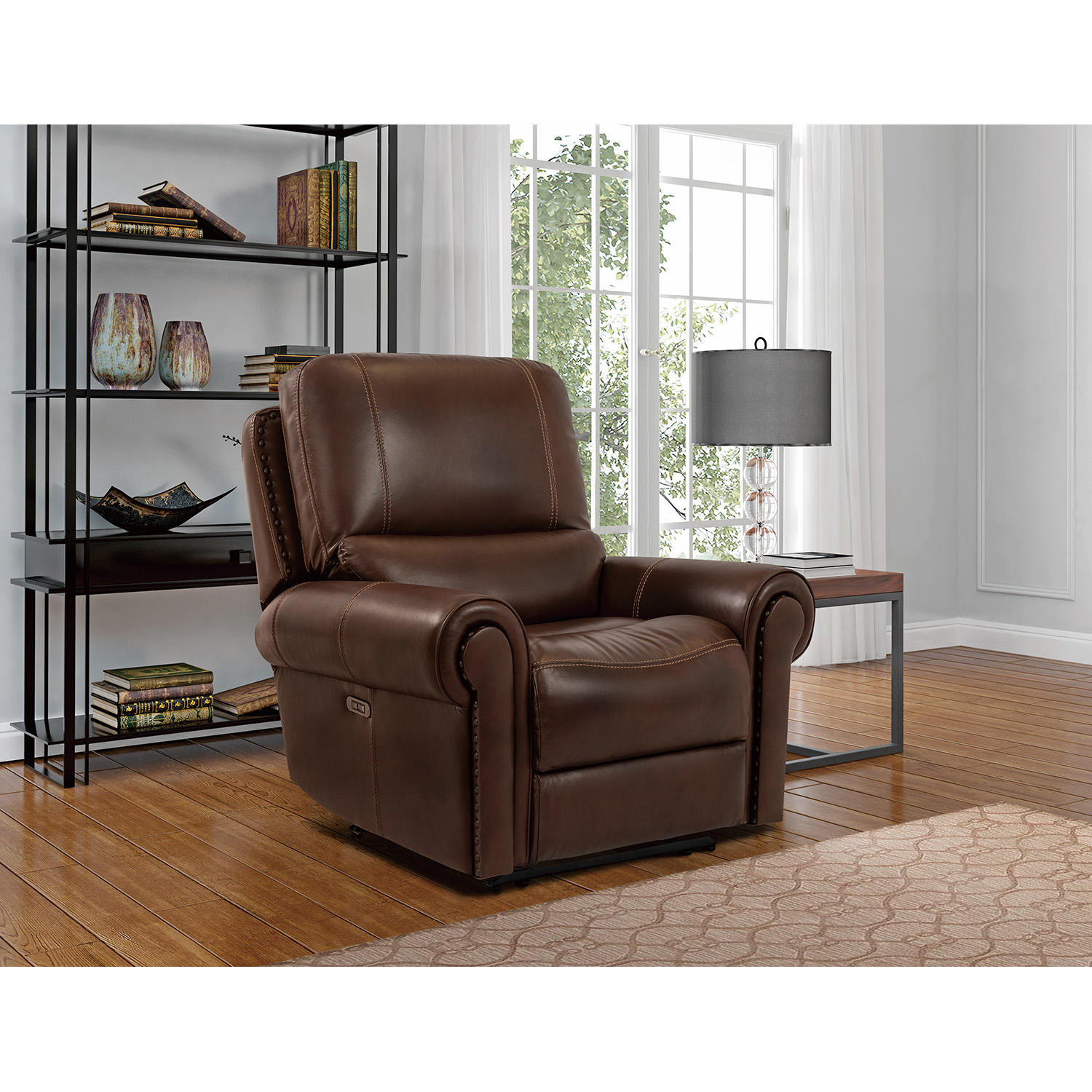 Morrisofa Harrison Leather Power Recliner