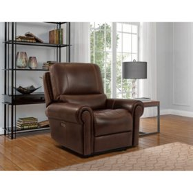 Harrison Leather Power Recliner