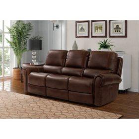 Harrison Power Recline Leather Sofa