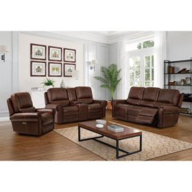 Harrison Power Reclining Sofa, Loveseat, and Recliner