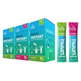 Nuun Instant Rapid Rehydration Electrolyte Powder, Hydration Supplement, Watermelon + Lemon Lime (24 ct.)
