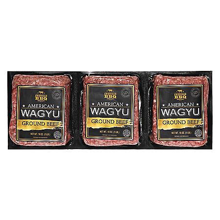 American Wagyu Ground Beef (3 lbs.)