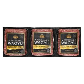 American Wagyu Ground Beef (3 lbs.)