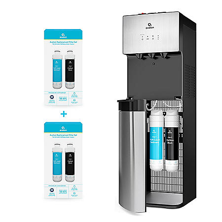 Avalon Self-Cleaning Bottleless Water Cooler Dispenser, UL/NSF/Energy Star, Extra Set of Filtration Included