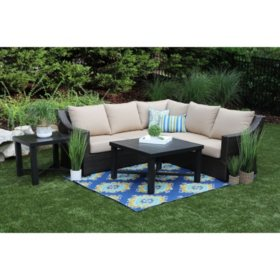 Birch 5-Piece Sectional with Sunbrella Fabric