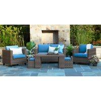 Pepperidge 6-Piece Deep Seating Set with Sunbrella Fabric