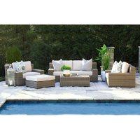 Oakley 5-Piece Deep Seating Set with Sunbrella Fabric