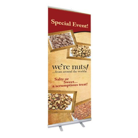 T3 Retractable Banner Stand With 1 Banner