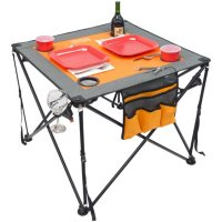 Creative Outdoor Folding Pop-Up Tailgate Wine Table (Various Colors)