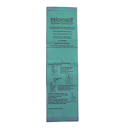 Bissell Commercial BGU7100 Disposable Filter Backs (10 pk.)