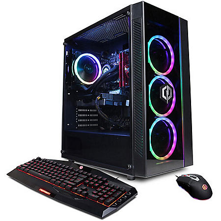 CyberPowerPC - Gamer Supreme Liquid Cool - Desktop - Intel Core i9-11900KF Processor - 16GB Memory - 1TB NVMe SSD + 2TB HDD - GeForce RTX 3070 - Windows OS