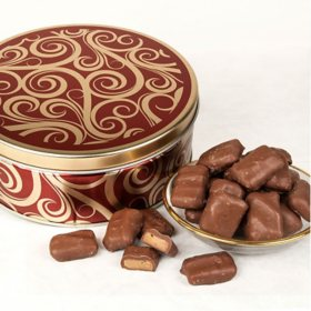 Milk Chocolate Toffee Bites Gift Tin (26 oz.)