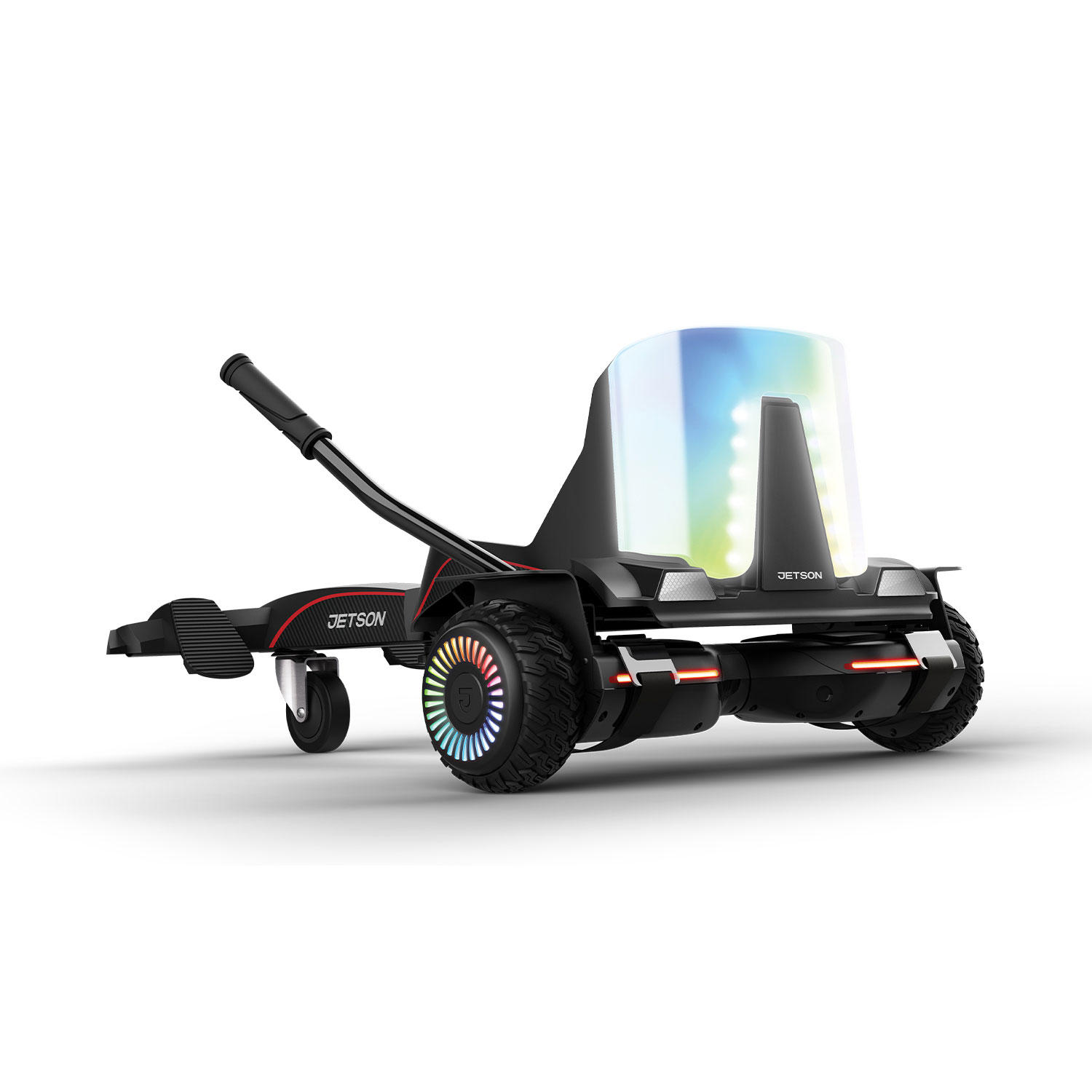 Jetson Force Light-Up Extreme Terrain Hoverboard & Go Kart Combo