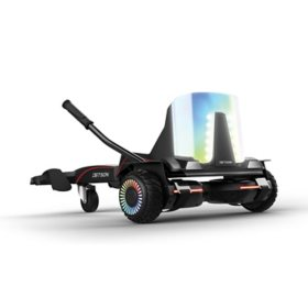Jetson Force Light-Up Extreme Terrain Hoverboard and Go Kart Combo