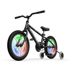 "Jetson Aura Light-Up Bike - 16"", Black"