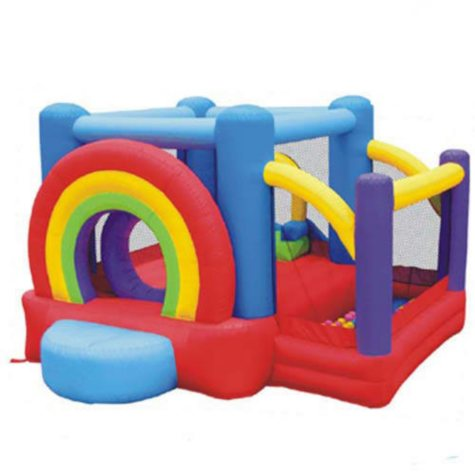 Rainbow Bouncer w/Ball Pit