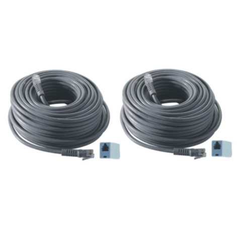 Revo 2 Pack Bundle of 60' Quick Connect RJ12 Cable