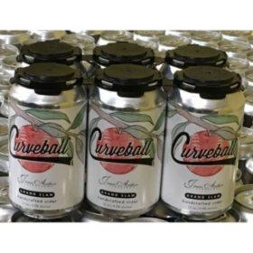 JAV Curveball Grand Slam Hard Cider (12 fl. oz can, 6 pk.)