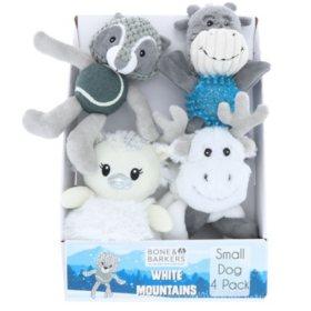 Bone & Barkers White Mountain Dog Toys (Choose Your Size)