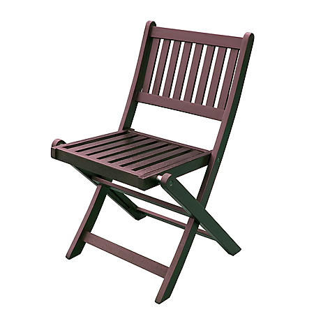 Eucalyptus Folding Square Table or Chairs  (Various Options)