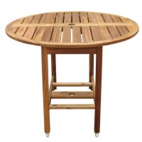 Acacia Folding Dining Table or Chairs (Various Options)