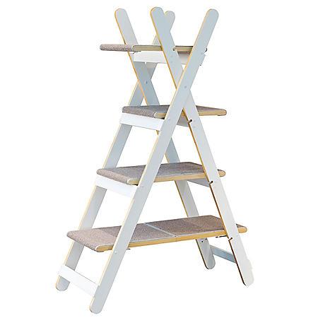 Zoovilla Modern Multi-Level Folding Cat Tree