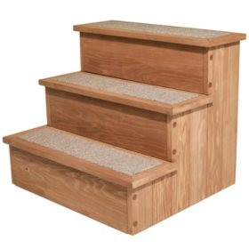 Zoovilla Yorkshire Pet Step with Storage