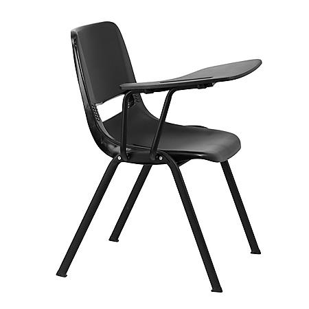Black Right Side Tablet Arm Chair Desk - 20 Pack