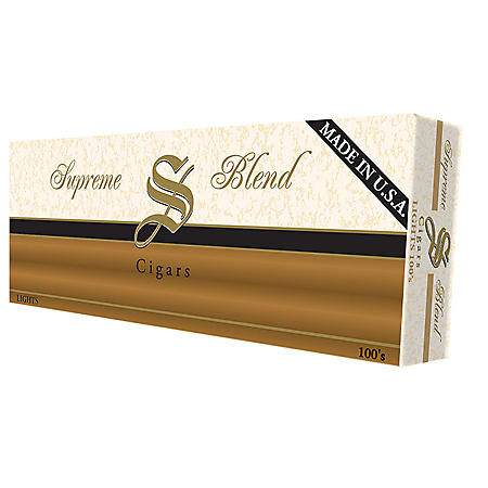 Supreme Blend Cigars Smooth 100s (20 ct., 10 pk.)