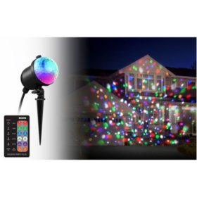 Ion Holiday Party Plus Multi-Color Indoor/Outdoor LED Projection Light