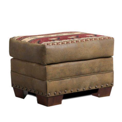 Sierra Lodge Ottoman