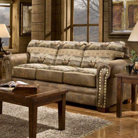 Rocky Mountain Elk Sofa