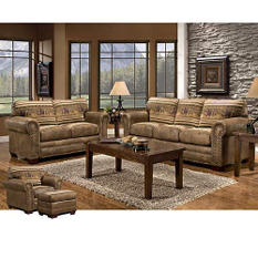 Wild Horses Living Room Group - 4 pc