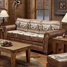 Alpine Lodge Sleeper Sofa