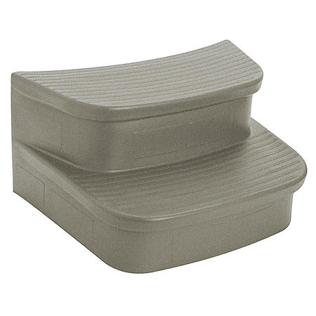 LifeSmart Curved Steps for Round Hot Tubs(303589) - Sand