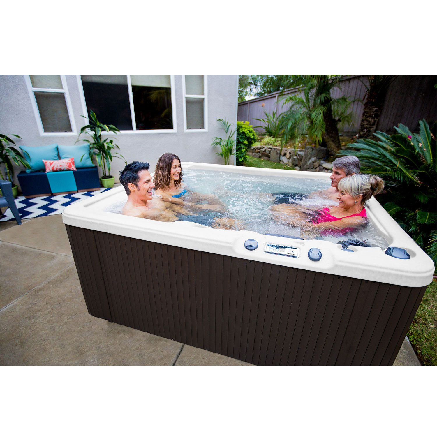 LIFESMART SPAS LS350 Plus 5 Person 28-Jet Spa