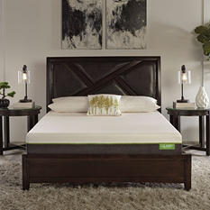 "LulaaBED 8"" Emerald Firm Twin Memory Foam Mattress"