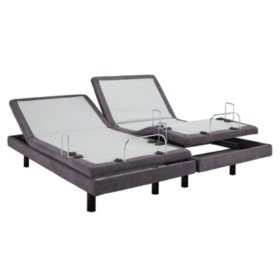 Split Queen Adjustable Bed >> Lulaabed Lb300 Split King Adjustable Bed Base Sam S Club