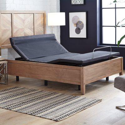 Member S Mark Queen Premier Adjustable Base With Pillow Tilt And Massage Sam S Club