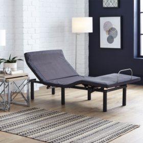 Member's Mark Twin Long Adjustable Base with Pillow Tilt & Massage
