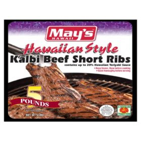 May's Hawaii Kalbi Shortribs (5 lbs.)