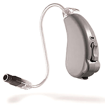 Liberty SIE 96 Channel Speaker-In-The-Ear Hearing Aid Powered by Lucid Technlogy, Grey