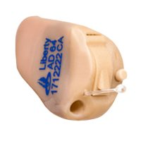 Liberty Custom 96 Channel Invisible-In-Canal Hearing Aid Powered by Lucid Technlogy