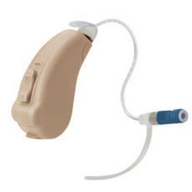 Liberty SIE 128 Channel Speaker-In-The-Ear Hearing Aid Powered by Lucid Technlogy, Beige